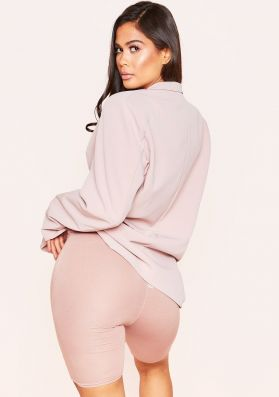 Tilly Dusty Pink Basic Cycle Shorts