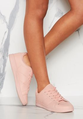Matilda Pink Leather Trainers