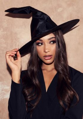 Esmeralda Black Witches Hat