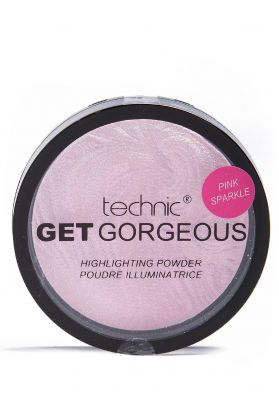 Technic Get Gorgeous Pink Sparkle Highlighter