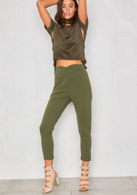 Robin Green Cropped Skinny Trousers
